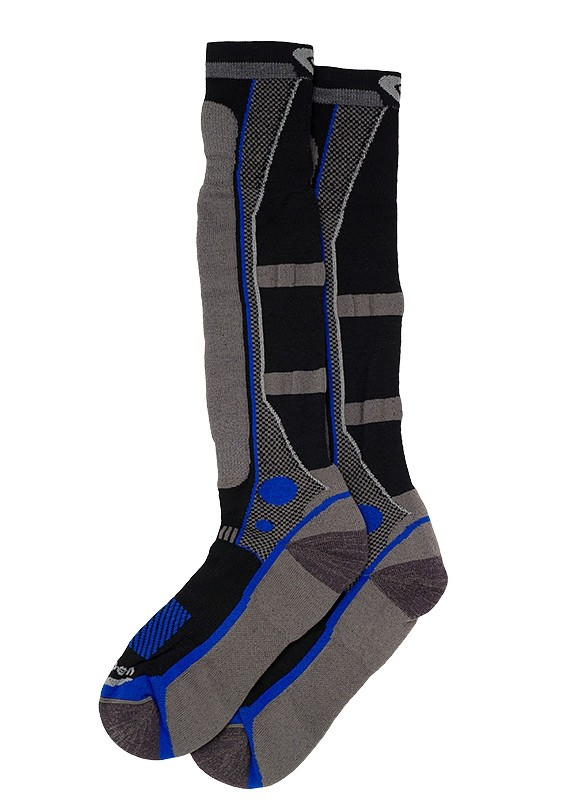 Lorpen - Men's T3 Women's Ski Light Sock - Black//Royal