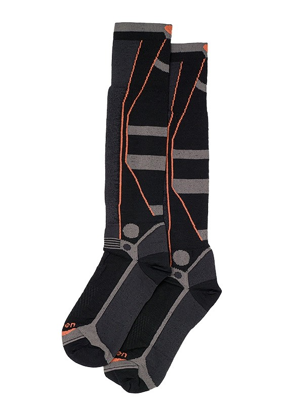 Lorpen - T3 Ski Superlight Unisex Socks - Black