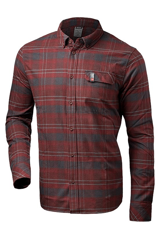 Helly Hansen - Men's Classic Check LS Shirt - Red Andorra Plaid