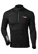 Helly Hansen - Men's - Lifa Merino 1/2 Zip T-Neck - Black