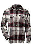 Woolrich - Men's - Oxbow Ben Flannel Shirt - Beige/Red