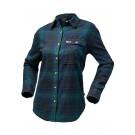 North Face Women's Berkeley LS Boyfriend Shirt -  Green