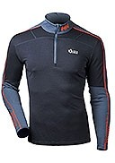 Helly Hansen - Men's - Lifa Active 1/2 Zip T-Neck - Graphite Blue