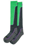Lorpen – Women's T2 Ski Light (Merino Dry) Sock – Charcoal