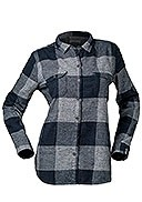 Woolrich - Women's - Eco Rich Twisted Rich Flannel Shirt II - Grey