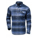 Helly Hansen - Men's Classic Check LS Shirt - Marine Blue