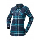 Helly Hansen - Women's Classic Check LS Shirt - North Sea Blue Plaid